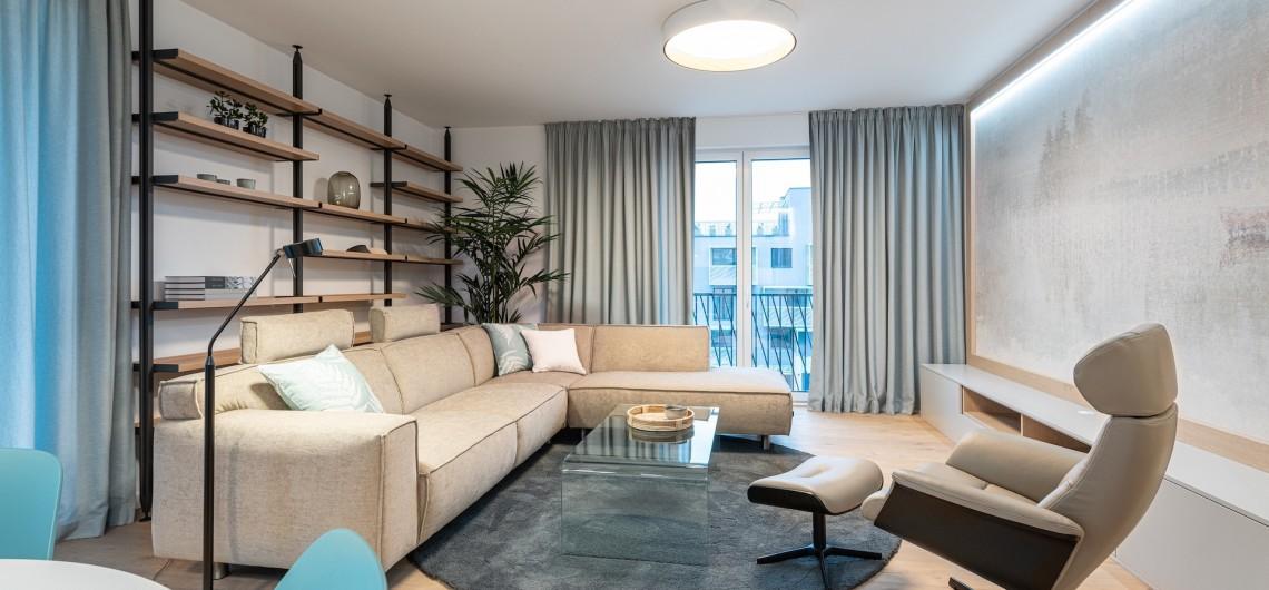 Nadštandardný 4-izbový byt s prírodnými detailmi