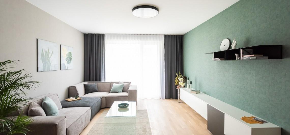 Zariadený 3-izbový byt pre mladú rodinu